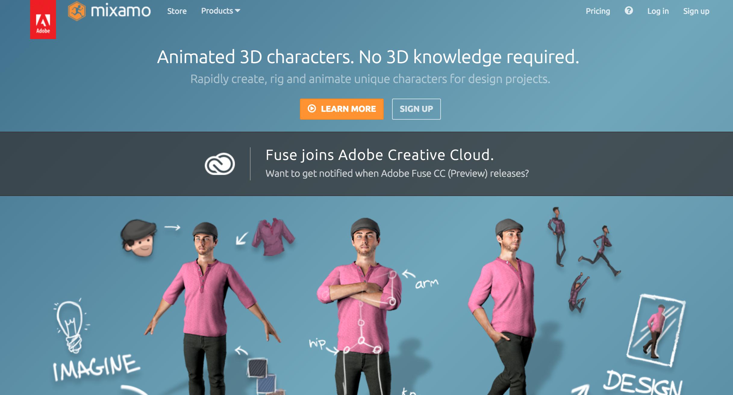 animation 3d en ligne